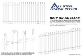 Bolt on Palisade
