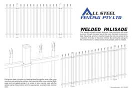 Welded Palisade